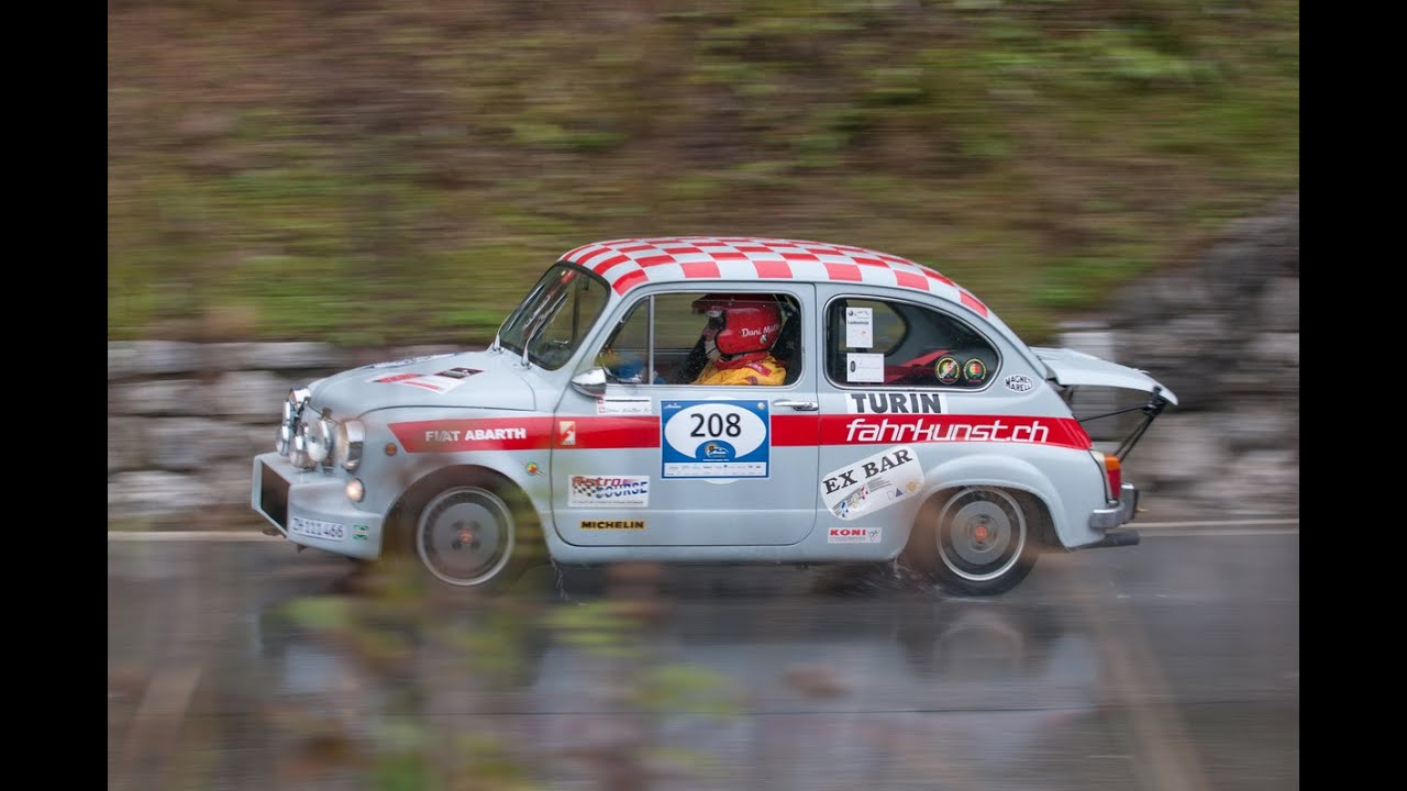 Arosa Classic Car 2014 Fiat Abarth 1000 Tc Youtube