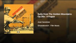 Suite from The Golden Mountains Op.30a : II Fugue