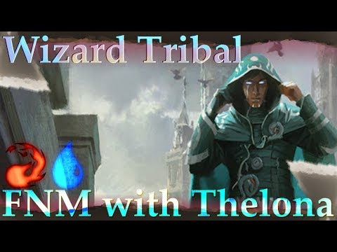 Izzet Wizard Tribal Gameplay #2 | Friday Night Magic Duels