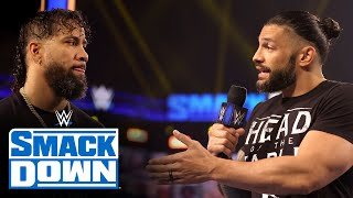 Roman Reigns convinces Jimmy Uso to challenge Cesaro: SmackDown, May 14, 2021