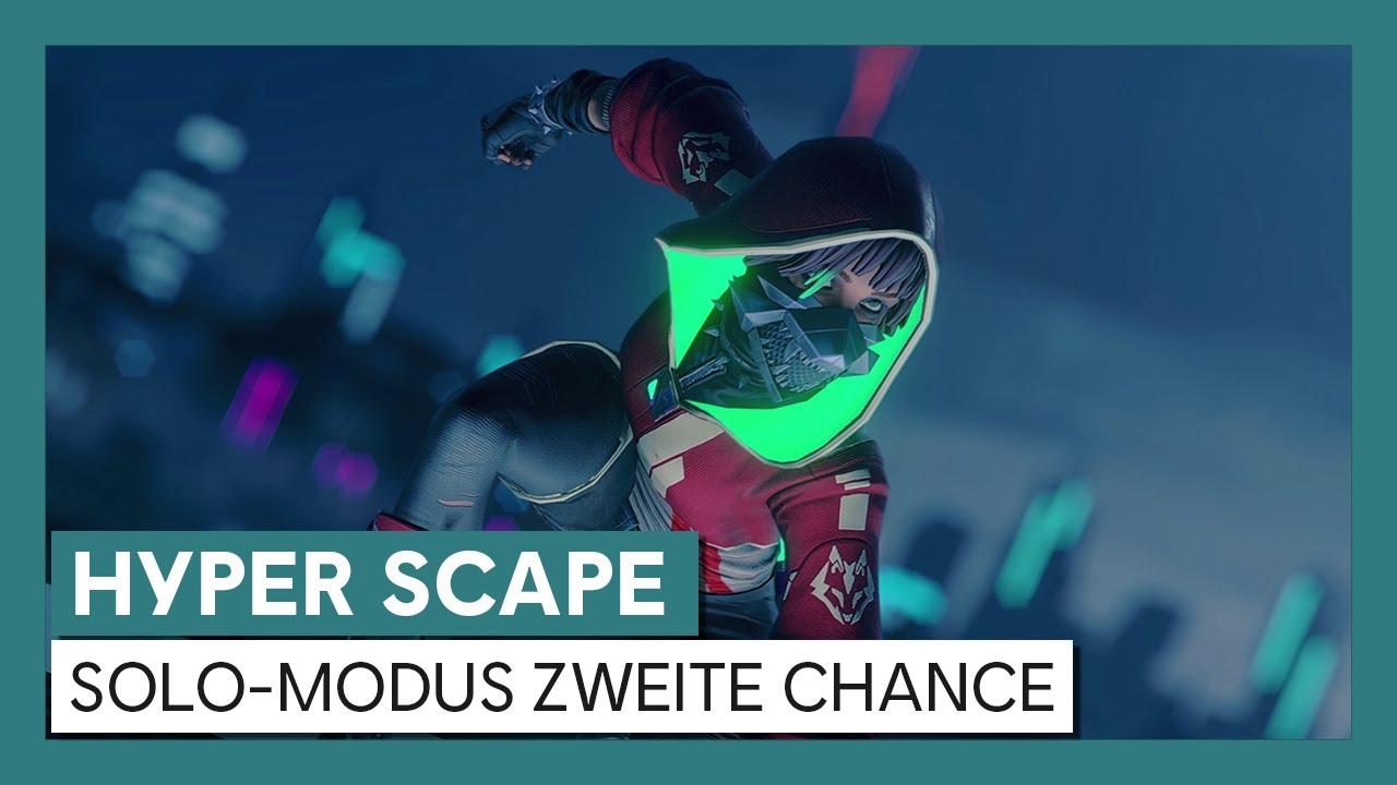 Hyper Scape: Solo-Modus Zweite Chance | Ubisoft