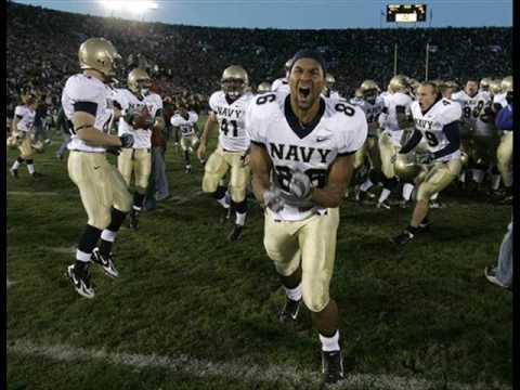 Navy's upset over Notre Dame (Play-of-the-Game) - YouTube
