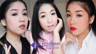 Working Woman Makeup Tutorial: 3 Styles with Jordana Cosmetics Thailand