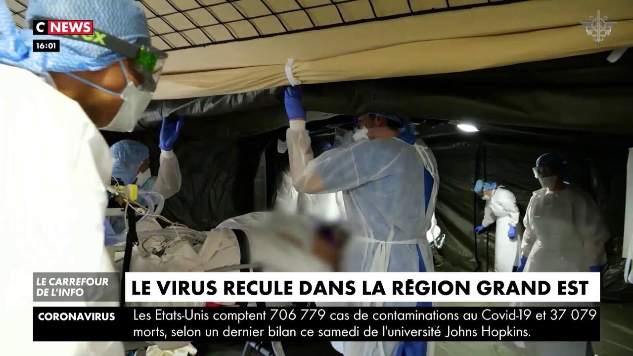 Le virus recule dans la région Grand Est