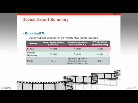 Packaging Vivado HLS IP for use from Vivado IP Catalog - YouTube