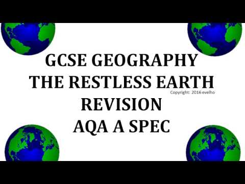 GCSE Restless Earth