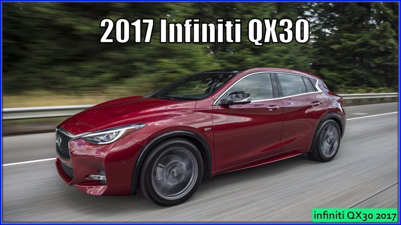 infiniti qx30 2017 premium awd interior review youtube. Black Bedroom Furniture Sets. Home Design Ideas