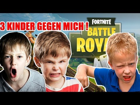 DREI Kinder MOBBEN mich in FORTNITE !