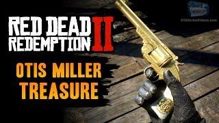 Red Dead Redemption 2 - Torn / Mended Treasure Map (Otis Miller's Revolver)
