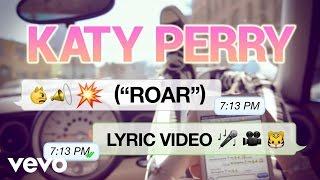 Katy Perry - Roar (Lyric Video)(Get