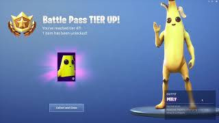*UNLOCKING* The Peely Skin In Fortnite...!!!