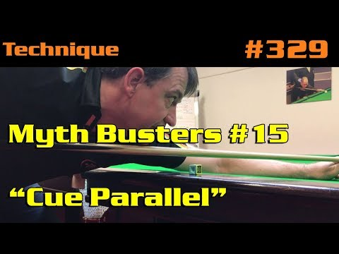 """Myth Busters #15: """"Cue Parallel"""""""
