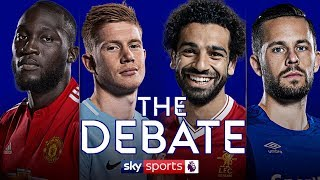 LIVE! Man Utd v Man City & Liverpool v Everton Preview! | Ryan Giggs & Phil Neville | The Debate