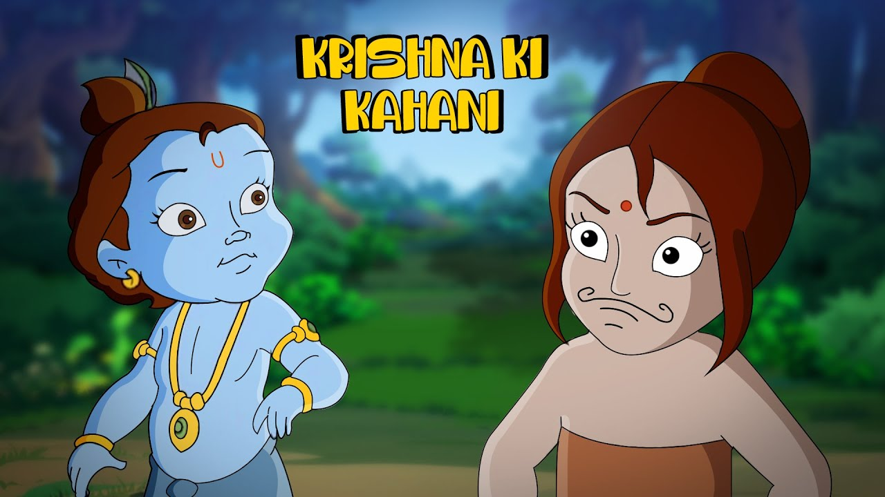 Krishna - Mysterious Witch Trap | Cartoons for Kids in Hindi | Fun Kids Videos