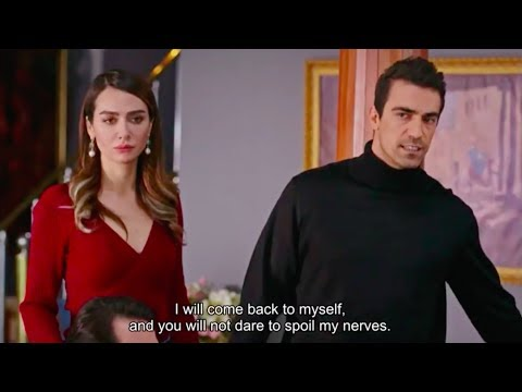 Black And White Love episode 18 - Ferhat and Aslı against the whole family! English Subtitles PART 1