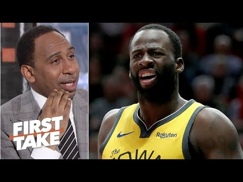 Draymond Green, Steve Kerr's lip-reading rift is no big deal for Warriors - Stephen A. | First Take