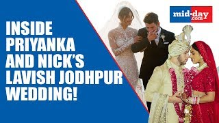 All The Inside Details from Priyanka and Nick's destination wedding at Umaid Bhawan!