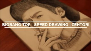 BIGBANG TOP - SPEED DRAWING | ZehTori