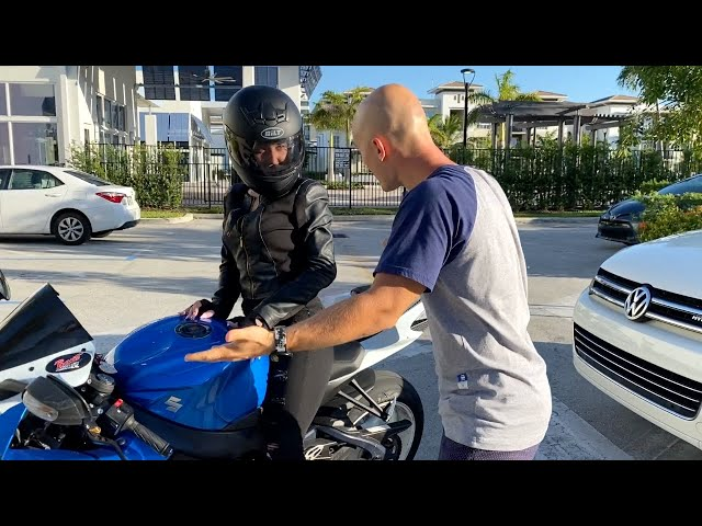 Deny Montana Gives a Lesson to the Careless Biker