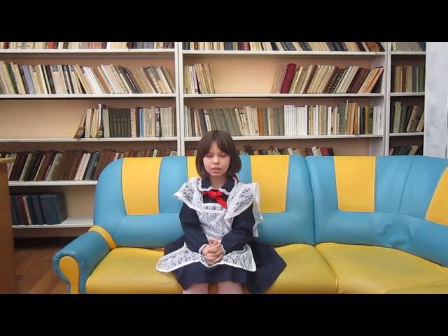 Изображение предпросмотра прочтения – ЕлизаветаСимоненко читает произведение «Осень» К.Д.Бальмонта