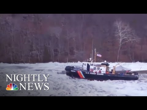 Winter Storm Brings Snow And Ice To The South | NBC Nightly News