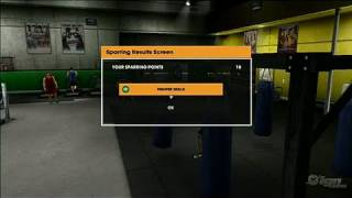 UFC Undisputed 2009 Xbox 360 Gameplay - Sparring Video
