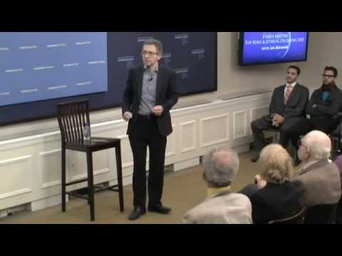 Global Ethics Forum: Top Risks And Ethical Decisions 2015 With Ian Bremmer