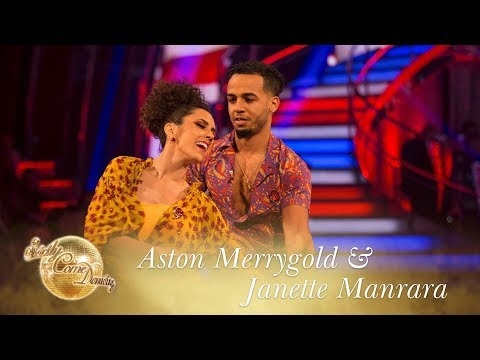 Aston and Janette Viennese Waltz to 'Who's Loving You' - Strictly Come Dancing 2017