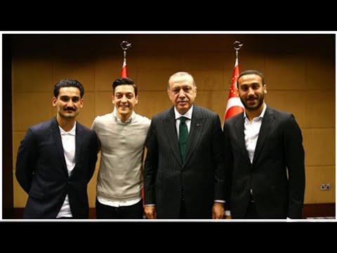 Erdogan über Foto mit Özil und Gündogan, Vergleich mit Merkel
