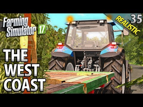 KEEPING THE LIVESTOCK HAPPY | Farming Simulator 17 | The West Coast | Episode 35