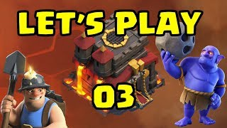 Let's Play TH10!! ep3 - Farming Walls | Clash of Clans