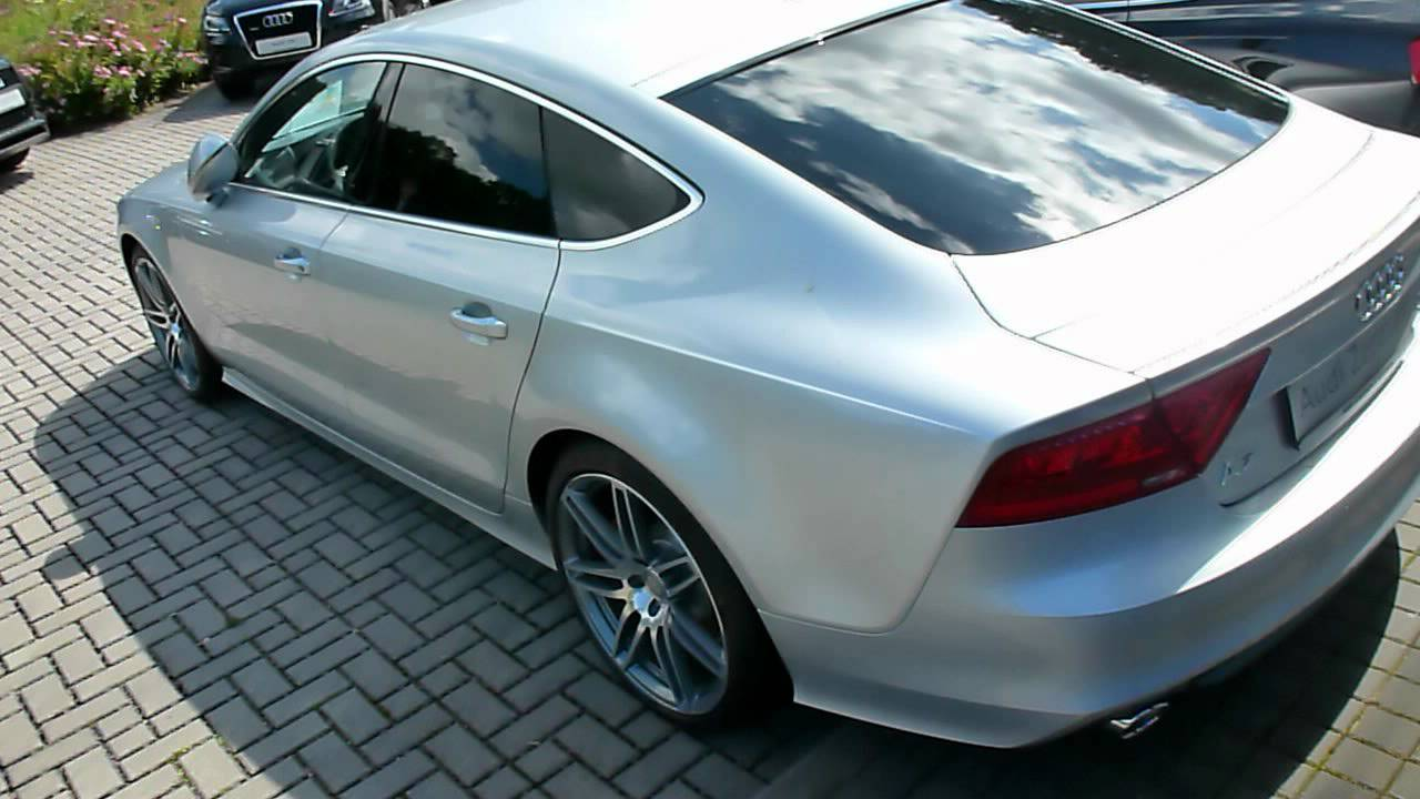 audi a7 sportback 3 0 tdi s line 204 hp 235 km h 2012 see also playlist youtube. Black Bedroom Furniture Sets. Home Design Ideas