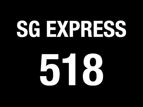 Go-Ahead Express Bus 518 Hyperlapse