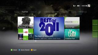 New Xbox 360 Dashboard Review Part 1 - Bing and Home