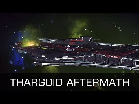 Elite: Fabulous - Thargoid Aftermath - Federal Capital Ship Wreck - Impressions