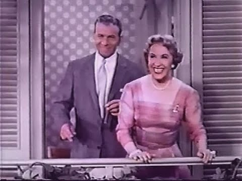 George Burns & Gracie Allen  in COLOR! S5E01, FULL EPISODE