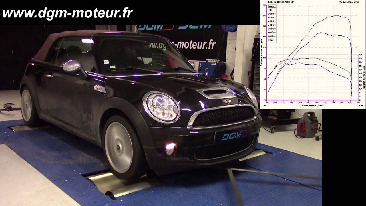 reprogrammation mini cooper s 1 6t 175ch dijon gestion moteur youtube. Black Bedroom Furniture Sets. Home Design Ideas