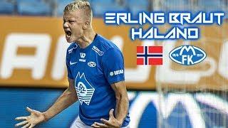 Erling Braut Haland 2018-2019 - Next Ibrahimovic - Insane Skills Goals & Assists - Molde FK