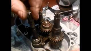 Настройка ножного переключения мотора В 501