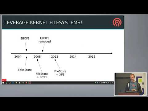 SDC 2017  Goode, XFS: Building a new, faster storage backend for Ceph   Sage Weil