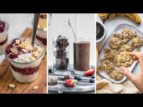 Easy Make-Ahead Breakfasts for School & Work (Vegan)