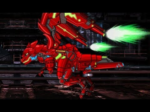 Dino Robot Infinity Tyranno Red Роботы Динозавры Бесконечность Тираннозавр