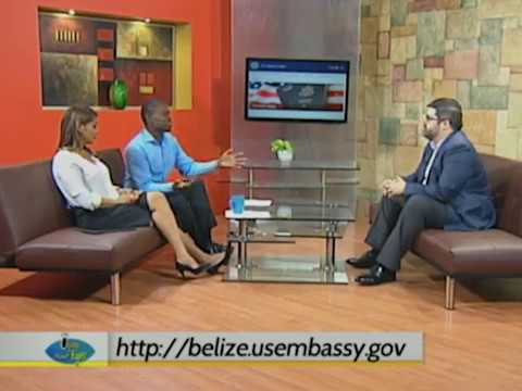 US Embassy to Belize facilitated -  application for a travel visa