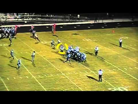 #84 Brandon Hamilton Riverdale High School 2012 Highlights