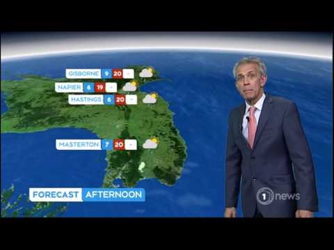 my maps on TVNZ weather forecast