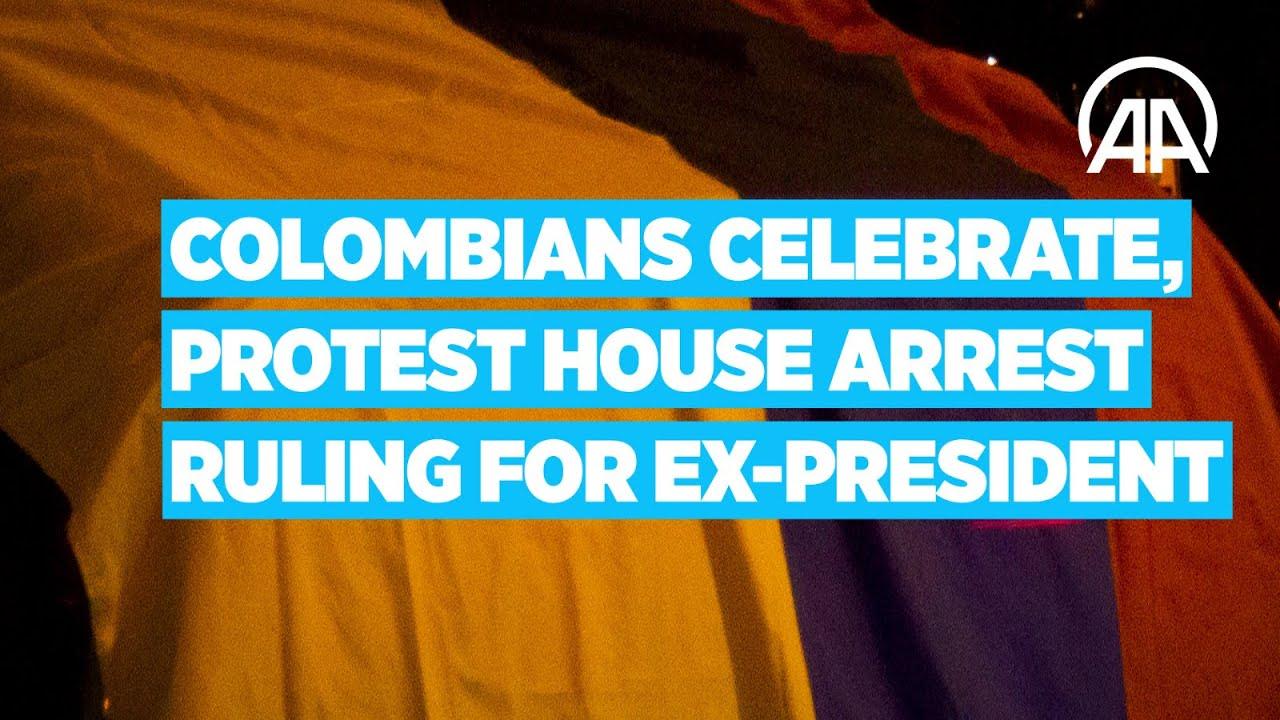 Colombians divided over house arrest ruling of Supreme Court for former president Alvaro Uribe Velez