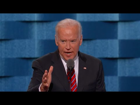 Joe Biden tears down Trump's favorite phrase