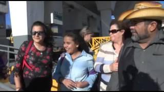 Video: Cambio de horario en la frontera