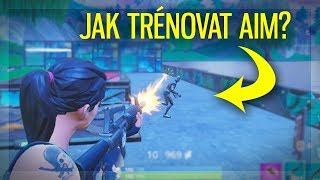 New BEST Way to TRAIN AIM (Fortnite: Battle Royale)