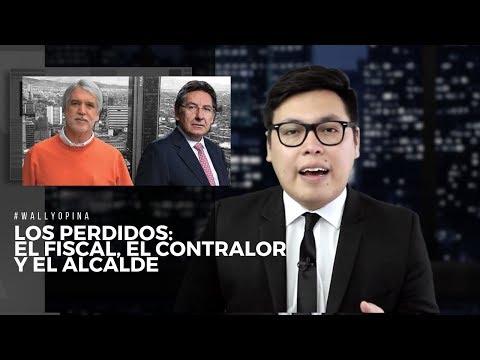 LOS PERDIDOS: EL FISCAL, EL CONTRALOR Y EL ALCALDE